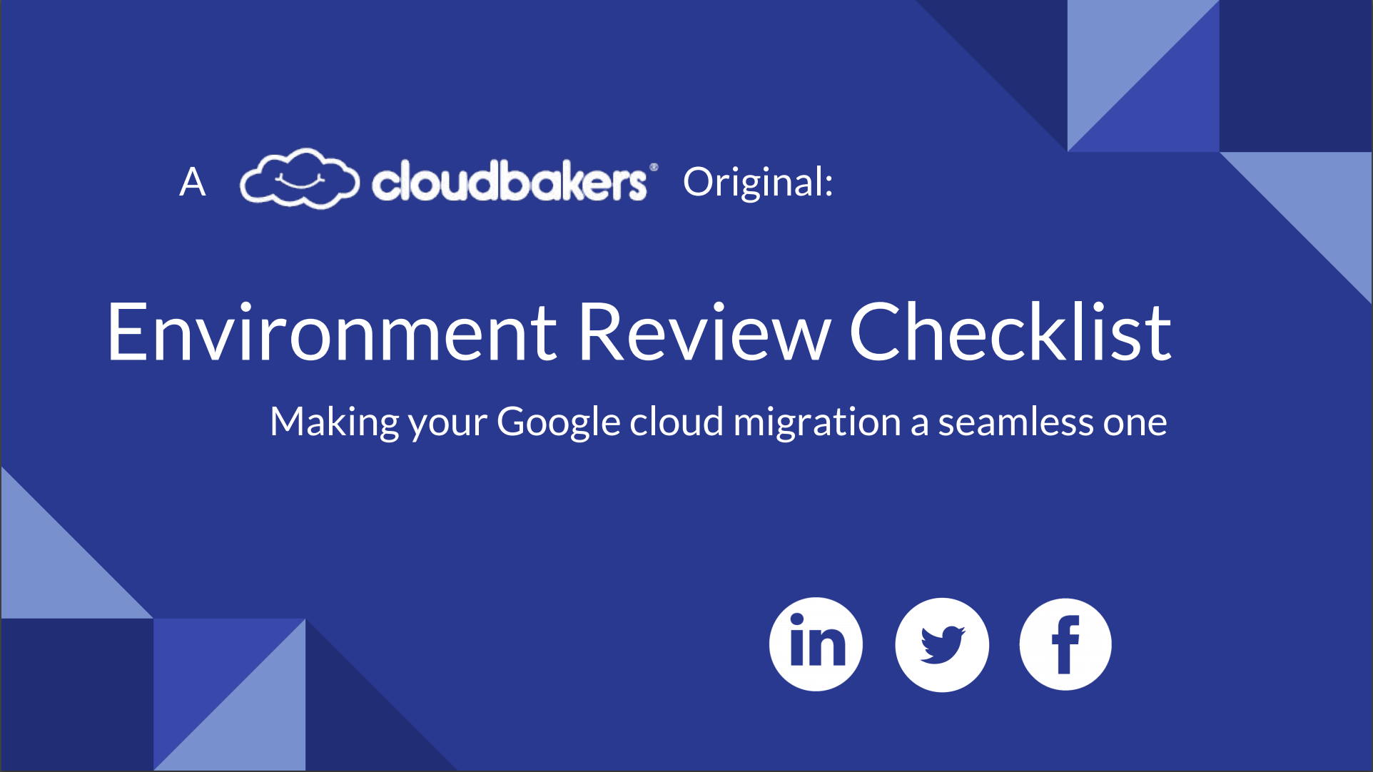 Environment Review eBook | Cloudbakers